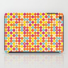 Funny Polkas-Yellow and orange iPad Case