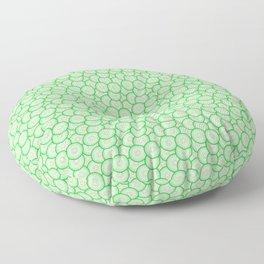 Cucumber patterned Floor Pillow