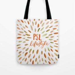 Pumpkin Spice Lifestyle Tote Bag