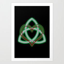 Heart of God Art Print