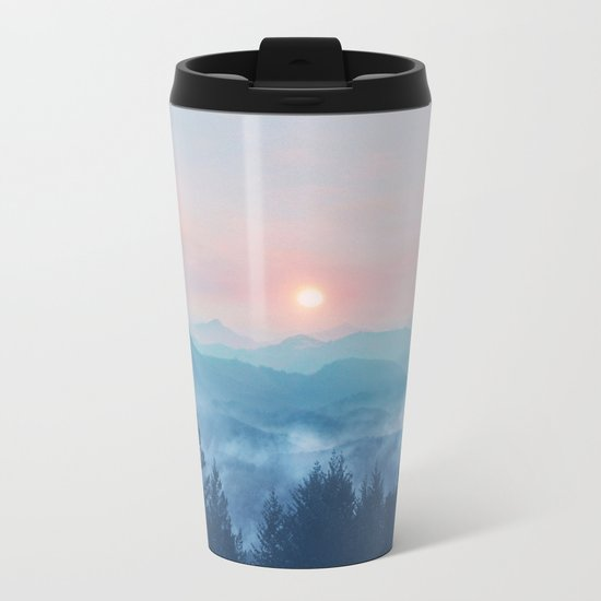 Pastel vibes 12 Metal Travel Mug