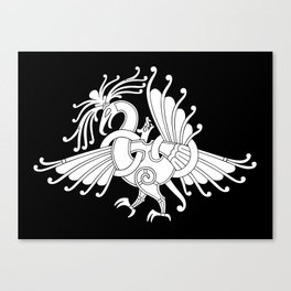 Ringerike Style Ornament III Canvas Print