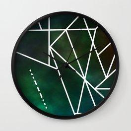 Intergalactic SOS Wall Clock