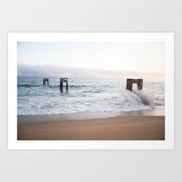 Lumenous - Waves Art Print