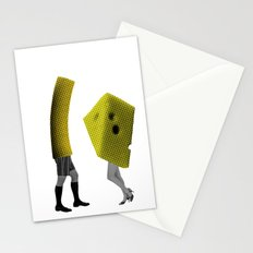 Because she's the cheese and I'm the macaroni Stationery Cards