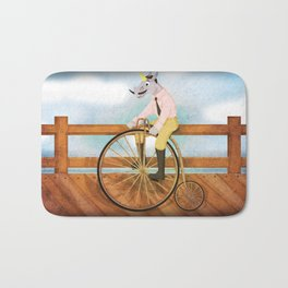 Bicycle Unicorn V02 Bath Mat