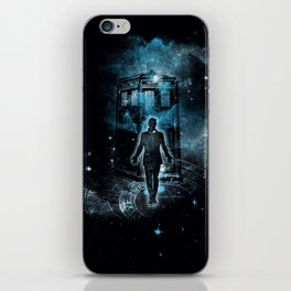 Time Traveller iPhone Skin