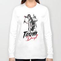 daryl Long Sleeve T-shirts featuring TEAM DARYL by Dr.Söd
