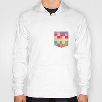 quilt Hoodies featuring quilt by spinL