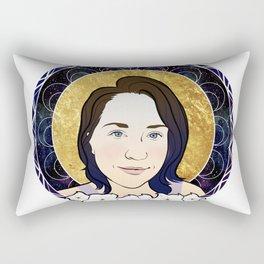 Moonflower Rectangular Pillow