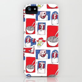 Red, White and Soup iPhone Case
