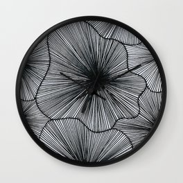 Geometric spaces Wall Clock