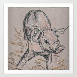 Piggie 1 Art Print