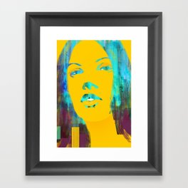 Risetime 1 Framed Art Print