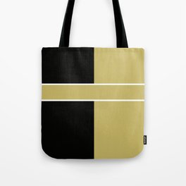 Team Color 6...black,gold Tote Bag