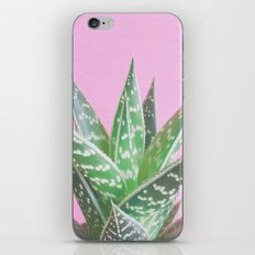 Pink Aloe Tiki iPhone Skin