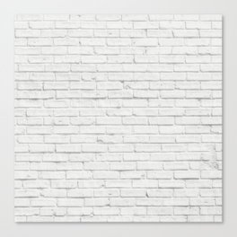 Brick Wall Canvas Print