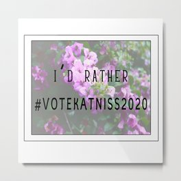 #VoteKatniss2020 Metal Print