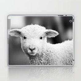 Lamb in Black and White Laptop & iPad Skin