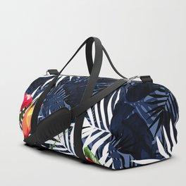 Bold Tropical Paradise Design Duffle Bag