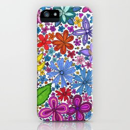 Lake Villa Garden iPhone Case