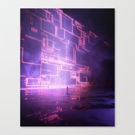 Figuring it Out Canvas Print