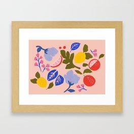 Arancia Rossa Framed Art Print
