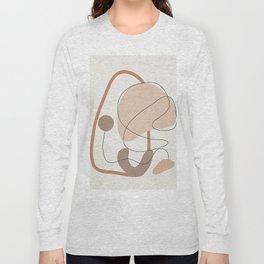 Abstract Line Movement III Long Sleeve T-shirt