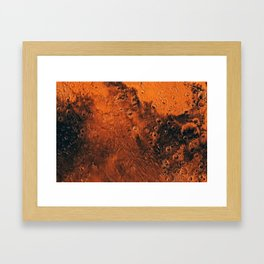 Mars Is There, Waiting To Be Reached, Galaxy Background, Universe Large Print, Space Wall Art Decor Framed Art Print