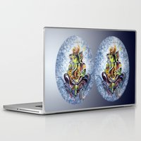 ganesha Laptop & iPad Skins featuring Ganesha by Harsh Malik