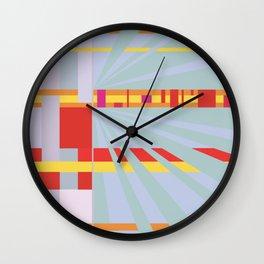 Muted Wall Clock