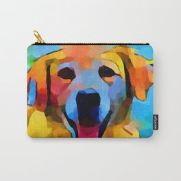 Golden Retriever 3 Carry-All Pouch