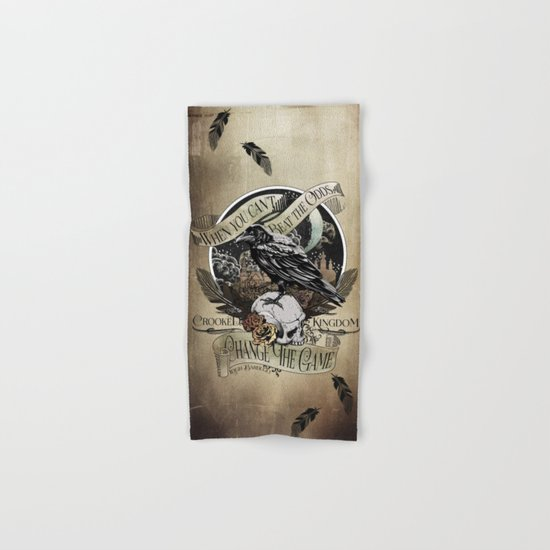 Crooked Kingdom - Change The Game Hand & Bath Towel