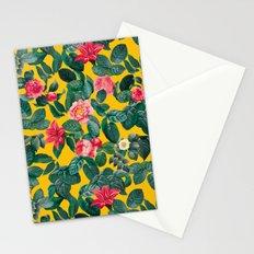 Summer Botanical Pattern Stationery Cards