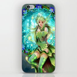 Forest Fea iPhone Skin