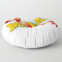 Give It The Midas Touch Floor Pillow