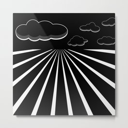 Dark Sky on the Horizon Metal Print