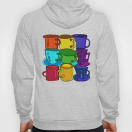 Tea Cups and Coffee Mugs Spectrum Hoody