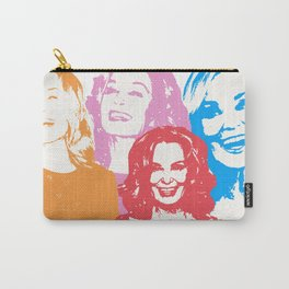 Jessica Lange - Her smile is everything Carry-All Pouch