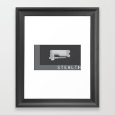 STEALTH Framed Art Print