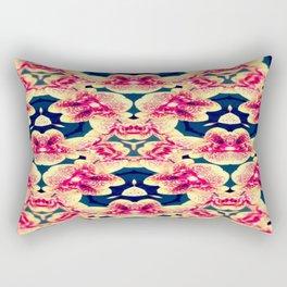 Kaleidoscope Orchids Rectangular Pillow