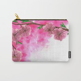 Cherry Blossom Carry-All Pouch