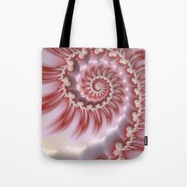 Candy Cane Fiesta - Fractal Art Tote Bag