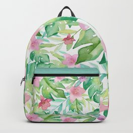 FLOWERS WATERCOLOR 17 Backpack