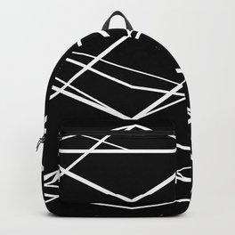 Geometric Pattern 68 (zigzag waves) Backpack