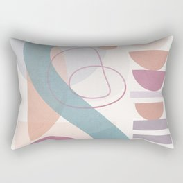 Azzurro Geometry 4 Rectangular Pillow