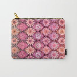 Daisy Pinks Carry-All Pouch