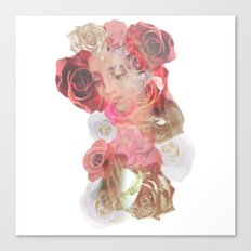 La Virgen de Guadalupe series: Las Rosas Canvas Print