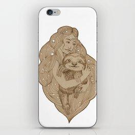 Slothy Christmas iPhone Skin