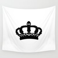 crown Wall Tapestries featuring Crown by Concept Phi